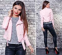 Куртка женская короткая кожзам 42,44,46