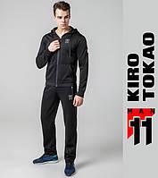 Kiro Tokao 439   Спортивный костюм мужской черный-черный