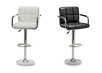 Барный стул Hoker ASTANA с подставкой для ног и регулировкой высоты сидения, фото 1