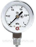 Углекислотный манометр 0-1 МПа