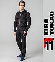 Kiro Tokao 439 | Спортивный мужской костюм черный-красный