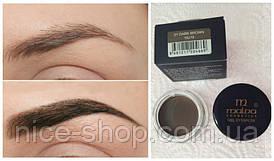 Помадка для бровей Malva Cosmetics Gel Eyebrow,тон № 01