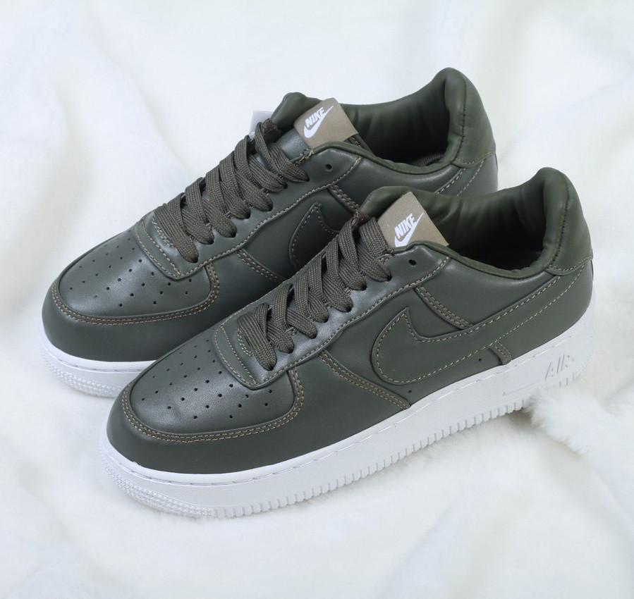8964949d Кроссовки в стиле Nike Air Force 1 Low Lab Haki женские - Интернет-магазин «