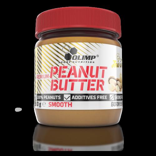 Арахисовая паста Olimp Premium Peanut Butter smooth ( 350g)