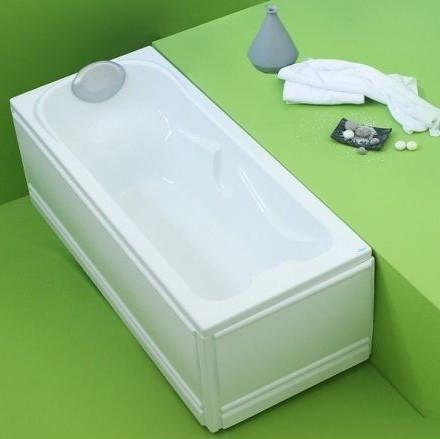 Прямоугольная акриловая ванна Fibrex Ulice 1500х700х550 мм