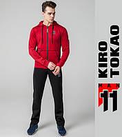 Kiro Tokao 439 | Мужской спортивный костюм красный-черный