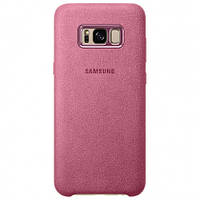 Чехол-накладка ALCANTARA(алькантара) original на Samsung Galaxy s8/s8 Plus Pink/Розовый