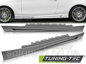 Накладки порогов BMW E81 / E82 / E88 04-13 M-PERFORMANCE STYLE