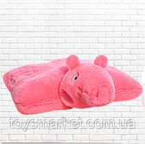 Детская подушка-складушка, свинка пеппа
