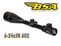 Оптический прицел BSA 6-24x50 AOE Iluminated Reticle, фото 1