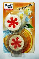 Denkmit  блок для унитаза +2 запаски с ароматом апельсина (3*50 g) Германия