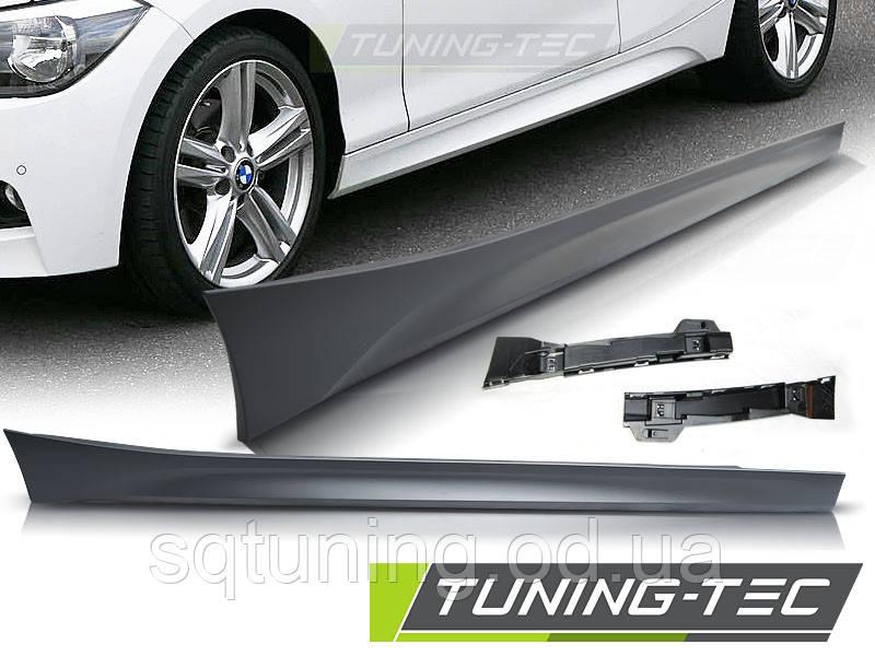 Накладки порогов BMW F20 9.11- M-TECH