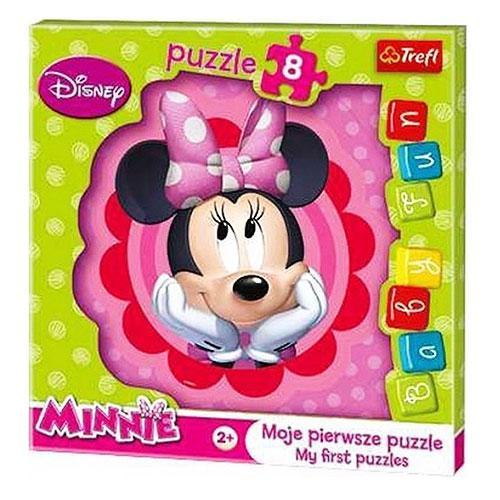 Пазлы 36117  Trefl, Disney, Minnie, макси, 8дет, в кор-ке, 21,5-21,5-1