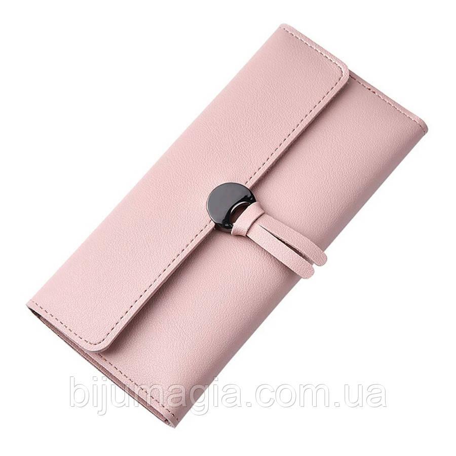 Кошелек женский розовый 11352-в