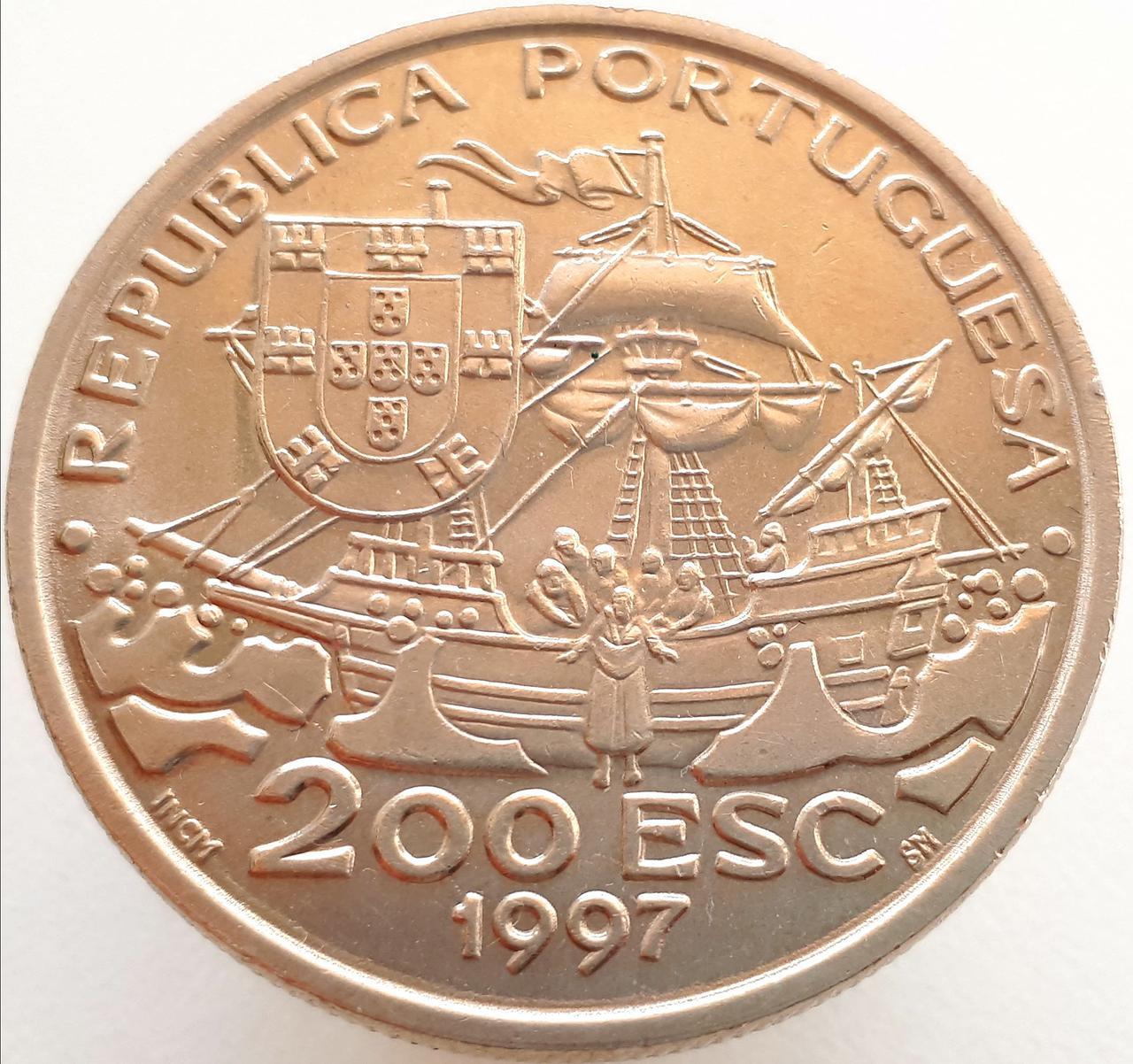 Португалия 200 эскудо 1997 - 445 лет со дня смерти святого Франциска Ксаверия