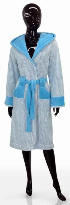 Жіночий халат розмір L SOFT SHOW COLLECTION 1204-80