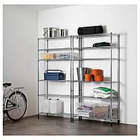 IKEA OMAR 2 секции полки  (491.875.48)
