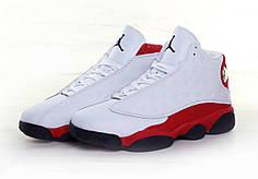 Кроссовки мужские Nike Air Jordan 13 White топ реплика