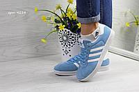 Женские Кроссовки Adidas (голубые) арт. С. 4214, фото 1