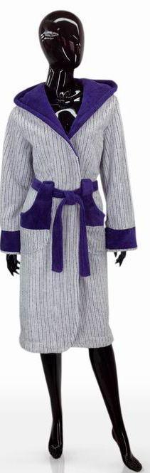 Практичный женский халат размер L, XL SOFT SHOW COLLECTION 1204-83