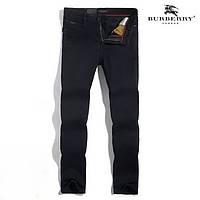 Зимние утепленные мужские джинсы BURBERRY модель 2018 г. Отличное качество. Доступная цена. Дешево Код: КГ3357