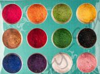 Набор цветного бархата для дизайна ногтей - 12 шт.