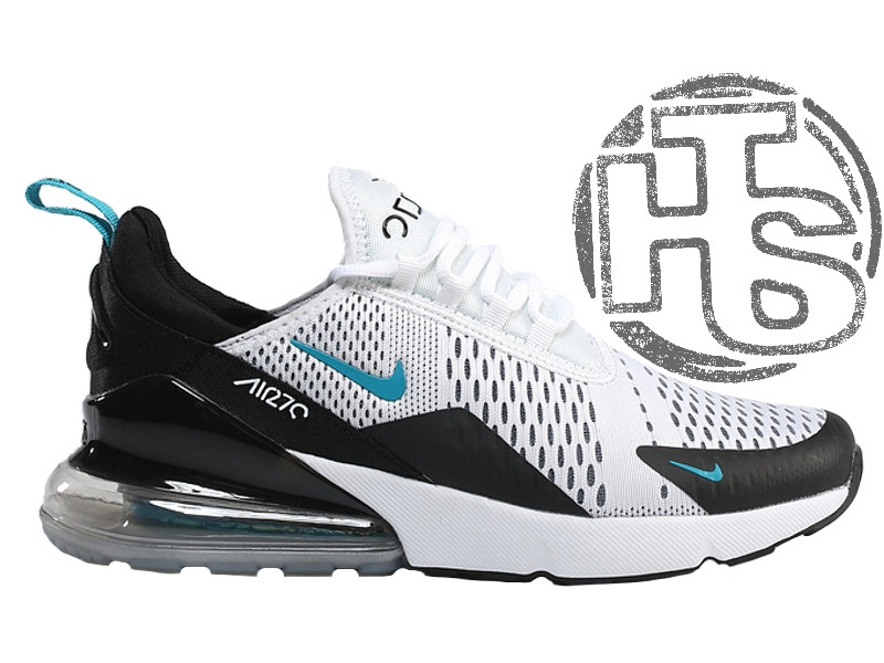 906a615c2dc4 Мужские кроссовки Nike Air Max 270 Flyknit White/Black/Blue AH8050-001