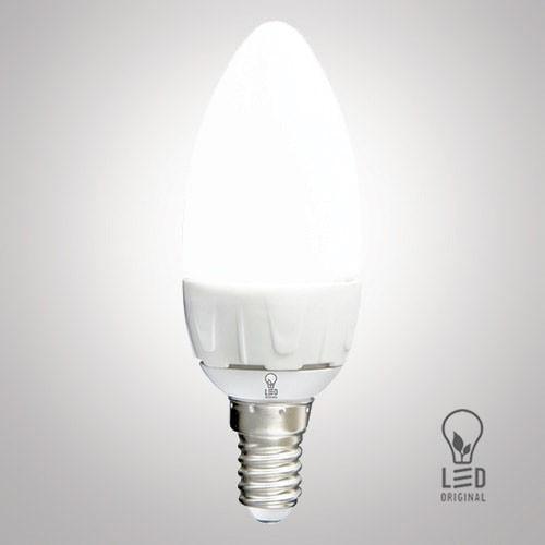 Лампа светодиодная LED Original C37 6W 4100K E14