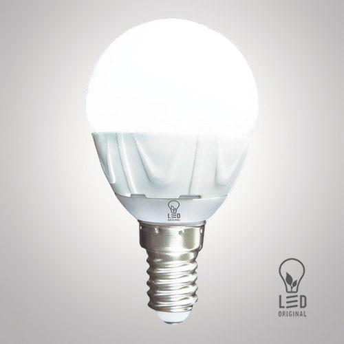 Лампа светодиодная LED Original G45 6W 3000K E27