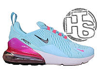 Женские кроссовки Nike Air Max 270 Flyknit Blue/White/Pink