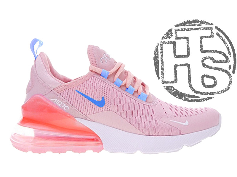 cheap for discount f1d95 f0af1 Женские кроссовки Nike Air Max 270 Flyknit Pink White AH8050-610