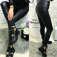 Тёплые женские джинсы