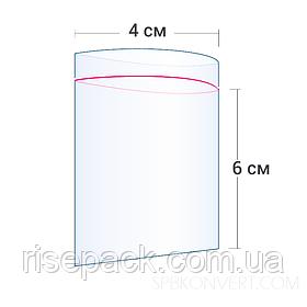 Пакеты Zip-Lock 4х6 см для упаковки и фасовки