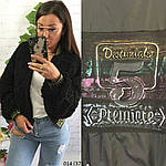 Куртка-бомбер двухсторонняя плащевка+мех 014 (37), фото 8