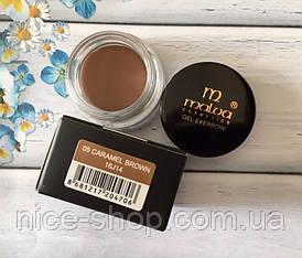 Помадка для бровей Malva Cosmetics Gel Eyebrow,тон № 05