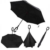 Зонты обратного сложения (зонт наоборот, зонт антиветер, антизонт, Up-Brella)