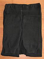 Гамаши женские вязаные (черные, 68-й размер)