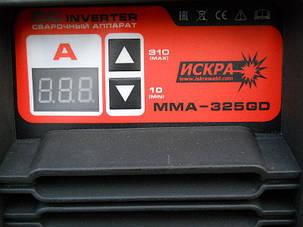 Сварочный инвертор Искра ММА-325 GD Industrial line, фото 2