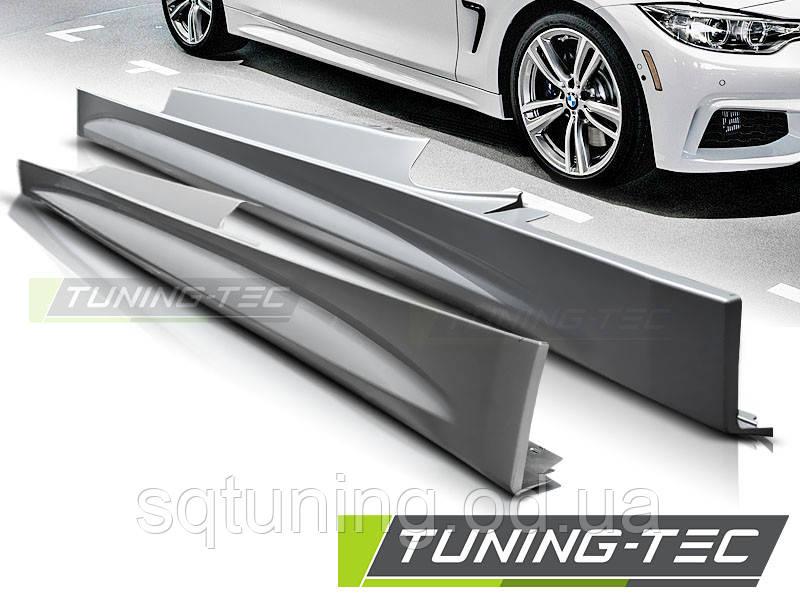Накладки порогов BMW F32/F33 10.13- M-TECH/PERFORMANCE