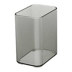 Кружка IKEA BROGRUND прозрачный серый 703.285.46