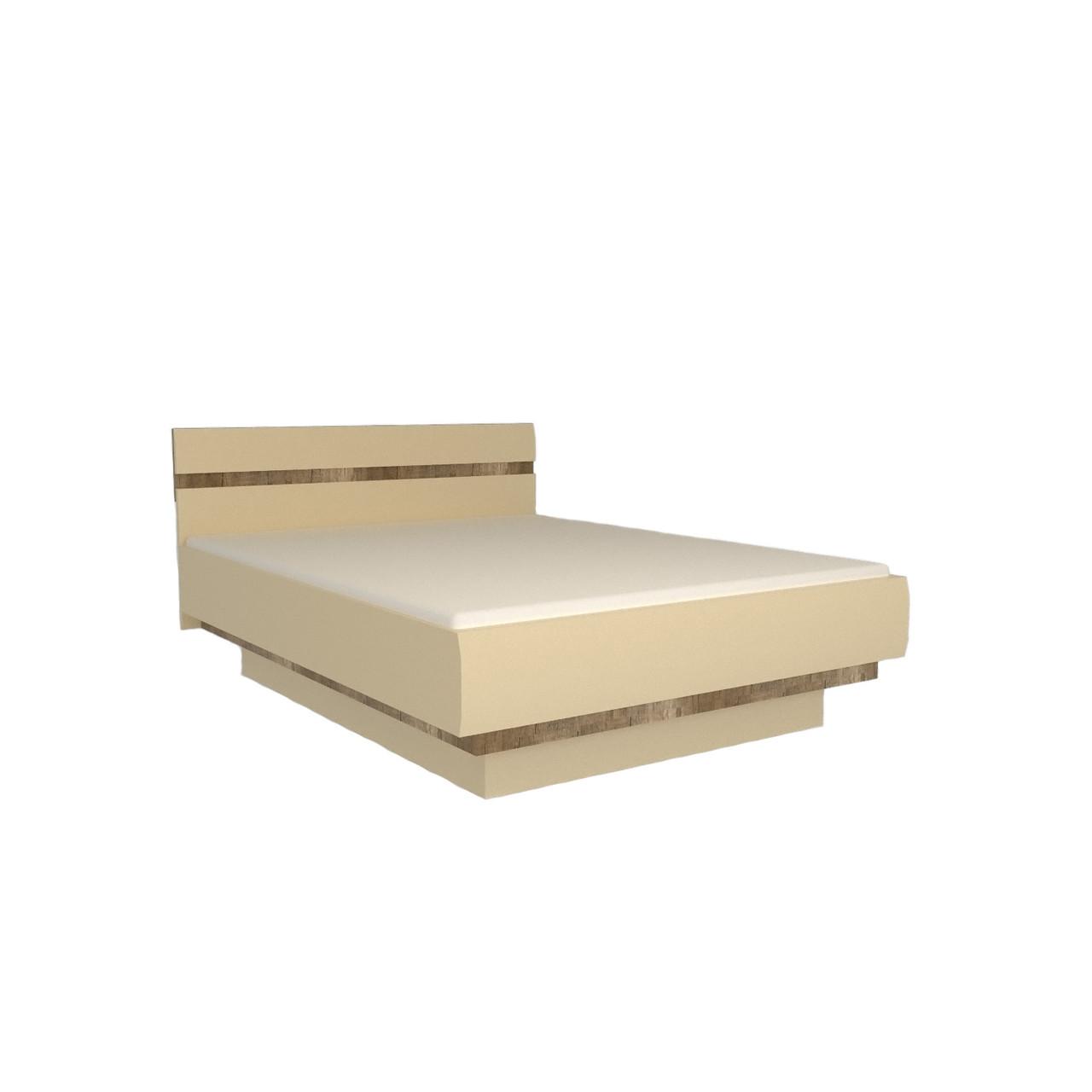 Ліжко (кровать) в спальню з ДСП/МДФ 140 Letis Z1 Blonski