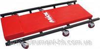 Тележка- лежак для механика подкатная металл., 6 колёс