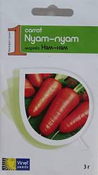 Семена моркови Ням-ням 3 г, Империя семян