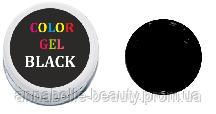 Гель-краска black (черная) 5 мл