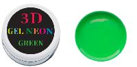 3 D гель паста (green) зеленая 5мл