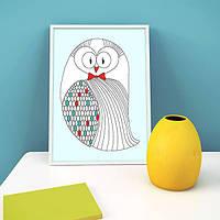 Постер Funny Owl