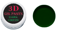 3 D гель паста (dark green) темно-зеленая 5мл