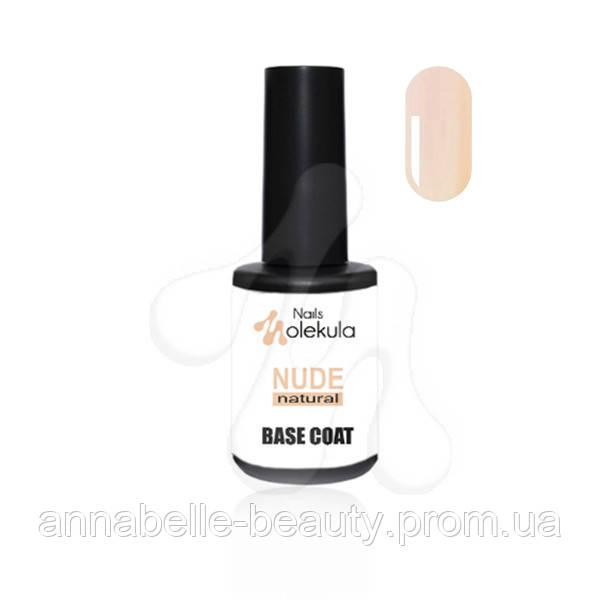 Base coat nude natural - Каучуковая база с бежевым оттенком 12мл