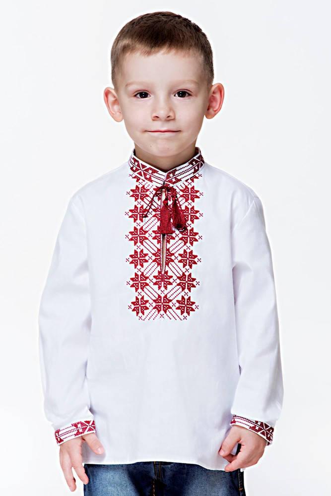 "Дитяча вишита сорочка ""Домашня"", хлопчик"