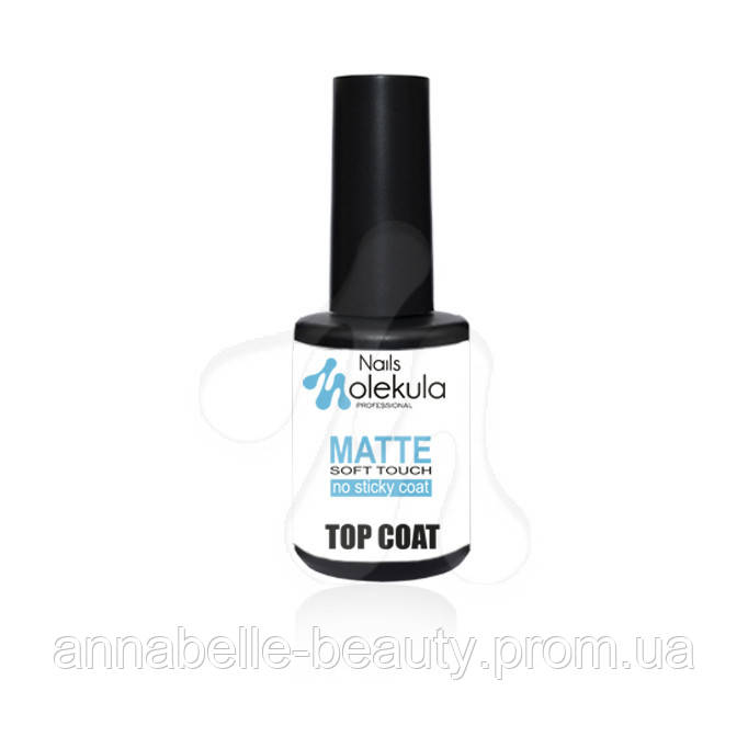 Top coat matte soft touch (матовый «бархат») без липкого слоя 12мл